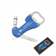 MFL300B Multitool key tool with LED Flashlight