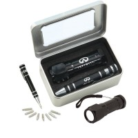 S09 Gift set FL02 Bolt flashlight & KM401 Screwdriver