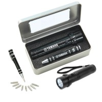 S14 Gift set FL18 Jet flashlight & KM401 Screwdriver Pen