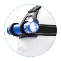 HL33: 2 in 1  Headlight with FL33 - 1 Watt 90 Lumens